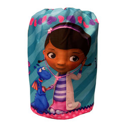 Jay Franco and Sons - Doc McStuffins Sleeping Bag Doctors In Slumber Set - FEATURES: