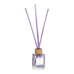 Cristalinas - Cristalinas Mini Scented Reed Diffusers, Lavender - People have been using scented oils and reed diffusers for years to freshen up their homes. It's by far one of the safest ways to diffuse scented oils due to its lack of need for any direct flame or heating element. It's a time tested method of freshening up a space, and now you're welcome to bring that same factor into your own home or office! Cristalinas is at it again with their Reed Diffuser sets, five fantastic scents to bring a little something special to the living space of your choice. There's the stimulating Vanilla, the warmth of Blackberries, soothing Lavender, sweet anf fruity Orange Blossom, and the calm floral fragrence of White Flowers.