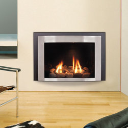 The Rockford XL Gas Fireplace Insert by Kozy Heat - The Kozy Heat Rockford XL gas fireplace is one of the Jordan series of gas fireplace inserts.  They are known for combining efficiency, safety, and environmentally-friendly IPI technology!
