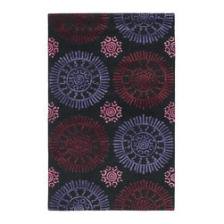 Chandra Rugs - Hand-Tufted Contemporary Rug STA31600 - 5' x 7'6 - Hand-tufted Contemporary Rug - STA31600 - 5' x 7'6