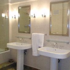 Contemporary Bathroom by Maxine Shriber Design