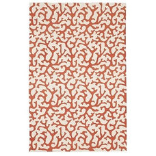 Eclectic Rugs Printed Coral Rug