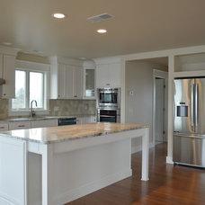 Craftsman Kitchen by Caldwell & Johnson  Custom  Builders & Remodelers