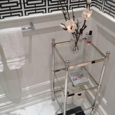 Traditional Powder Room by Taylor Made Designs