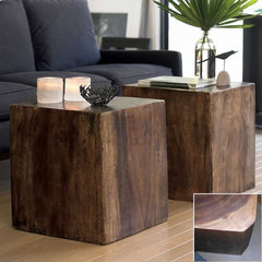 contemporary side tables and accent tables by VivaTerra