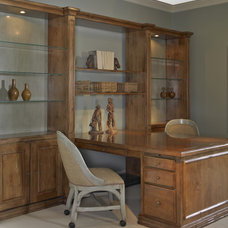 Traditional Home Office by Lorts Manufacturing