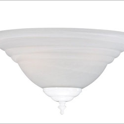 Savoy House - Savoy House-FLGC-249-WH-Ceiling Fan Light Kit - Fan Light Kit for use with The Cloister