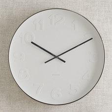 Modern Clocks by West Elm