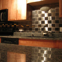 contemporary kitchen tile by Alloyed Décor