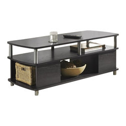 Altra Furniture - Altra Furniture Carson Coffee Table in Espresso Finish - Altra Furniture - Coffee Tables - 5094096 - The Carson Coffee Table is a great addition to the Carson Collection. With plenty of open storage you will be able to lay back and kick your feet up.