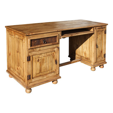 Rustic Pine Office Desk - Cyber Monday Sale: 20% Off Art & Home Accessories. Valid through 11:59PM PT #CyberMonday #sales #homeinteriors