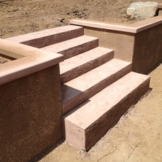 Modern Landscaping Stones And Pavers by RediPour Wall Systems