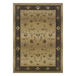 Sphinx - Sphinx Genesis 112m1 Rug - 9 ft 9 in x 12 ft 2 in - Oriental Weavers Sphinx Genesis 112m1 Area Rug . Casual elegance at its best, Genesis is a compilation of classically inspired Persian motifs, elevated transitionals, and relaxed contemporaries designed with today's consumer in mind. Genesis features a blend of up to 55 new colors chosen to coordinate with today's organic color movement with an emphasis on dusty moss greens, vibrant red, warm copper, a soft rain blue, along with an array of light to dark neutrals. Sphinx's innovative cross-woven technology is unsurpassed in modern area rug manufacturing. Featuring a special hard-twist construction, intricate detailing, subtle shading, and drop-stitching for added textural interest, the Genesis Collection is a remarkable value. As with all of Sphinx's machine-made polypropylene area rugs, Genesis is inherently stain, fade, and wear resistant, making it the perfect addition for even the most active households.Features: Styles ranging from traditional to contemporary, Up to 55 colors in each design featuring warm organic shades, Inherently stain resistantConstruction: Machine Made of PolypropylenePile Height: 1/4 in to 1/3 inOrigin: EgyptColors may differ slightly from Website.