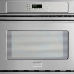 "Frigidaire - Professional Series FPEW3085PF 30"" Single Electric Wall Oven With 4.6 Cu. Ft. Ca - This item is for a Frigidaire professional 30 single electric wall oven This wall oven features Smudge-Proof Stainless Steel which Resists fingerprints and smudges so it39s easy to clean Even Baking Technology which ensures even baking every time Pow..."