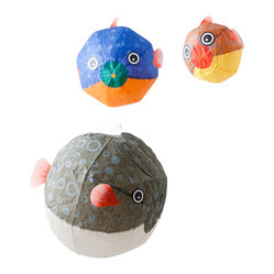 Globefish Paper Balloon Set