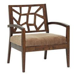 Jennifer Wooden Modern 32-Inch-H Lounge Chair -