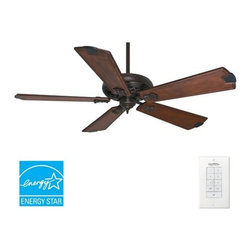 "Casablanca - Casablanca Fellini Fellini 60"" 5 Blade Energy Star Ceiling Fan - Blades and Wall - Features:"