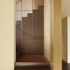 Modern Staircase Courtyard Residence