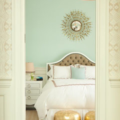 eclectic bedroom by inspirationfordecoration.blogspot.com