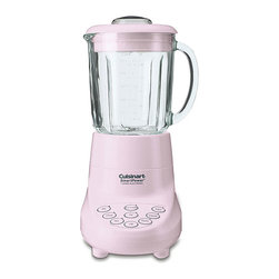 Cuisinart - Cuisinart SPB-7PK Pink 7-speed SmartPower Blender - This Italian-style blender from Cuisinart is perfect for blending, pureeing, mixing, liquefying and stirring. Make food-prep tasks a snap with this stylish pink blender.
