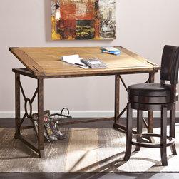 Upton Home Kaden Tilt-Top Drafting Table -