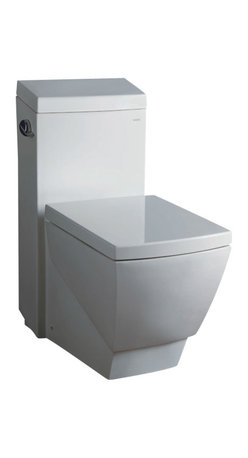 EAGO - EAGO TB336 Modern One Piece High Efficiency EcoFriendly Square White Toilet - We are very excited to offer you this top of the line brand of eco-friendly low consumption modern smart toilets. Join the latest fashion trend with EAGO's innovative line of green products.