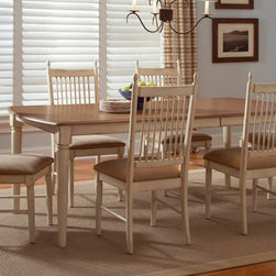 Cottage Cove - Cottage Cove Liberty Casual Dining 7-piece Set - Upgrade your dining room with this seven-piece dining set. This set features planked top accents and and a dovetail construction. Composed of one dinette table and six side chairs, this set will provide more than enough room for the entire family.