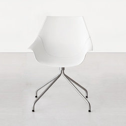 LaPalma - Cox Chair, Swivel 4-Star Base | LaPalma - Design by ON Ostwald+Nolting, 2005.