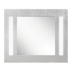 """Kichler - Kichler 78203 26.5"""" Modern Wall Mounted Lighted Mirror - Specifications:"""