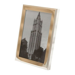 Used Restoration Hardware Small Silver Frame - Treasure a photo or a keepsake in this lovely petite silver frame from Restoration Hardware. It's the perfect size for a nightstand or dresser!