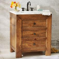 Stella Single Sink Console | Pottery Barn