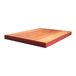 Waggo - Edge-y Cutting Board, Cherry - Make your other kitchen tools jealous with our Edge-y Cutting Board!
