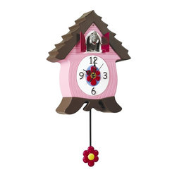 Xanadoo - EleCoo Elephant Cuckoo Clock - Cuckoo Clock for Kids