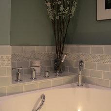 Eclectic Bathroom by Glickman Design Build, LLC