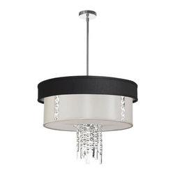 Dainolite - Dainolite RITA-24-3-PC-694-790 Rita 3 Light Chandelier - Features: