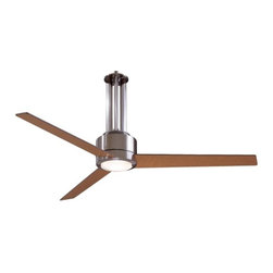 56-Inch Ceiling Fan with Three Blades and Light Kit -