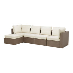 Arholma Sofa Combination - Ikea allows you to create seating sectionals that perfectly suit your outdoor space.