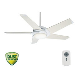 """Casablanca - Casablanca 59105 Stealth 54"""" 5 Blade DC Ceiling Fan - Blades and Light Kit Inclu - Included Components:"""