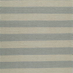 Laguna LG-12 Grey Rug - 2'x3' - Geometric patterns, vibrant colors and chic simplicity all collaborate to make the flat-weave Dhurry collection, Laguna. Made in India of 100% wool, Laguna utilizes a vibrant color palette that plays off geometric patterns often found in paving stones, basket weaves and nature.
