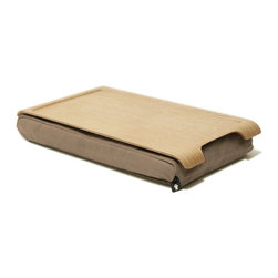 Bosign - Mini Laptray - Mini Laptray - Natural / Sand. Lacquered willow surface
