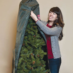 Balsam Hill - Balsam Hill Topiary/Potted Tree Storage Bag - Maintain the beauty of your lush artificial topiary with our Topiary/Potted Tree Storage Bag. Measuring 17 x 60 inches, this storage bag keeps your small potted Christmas trees fresh for the coming holiday seasons.