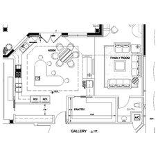 Traditional Floor Plan by Scanlin Designs, LLC