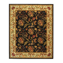 Safavieh - Safavieh Chelsea Country & Floral Hand Hooked Wool Rug X-8-B141KH - 100% pure virgin wool pile, hand-hooked to a durable cotton backing. American Country and turn-of-the-century European designs. This collection is handmade in China exclusively for Safavieh.