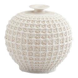 Cyan Design - Diana Vase - Small - Small diana vase - matte white