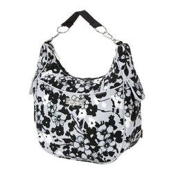 RR - On Sale Chloe Convertible Diaper Bag in Evening Bloom - Quick Ship Chloe Convertible Diaper Bag in Evening Bloom