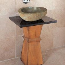 Modern Bathroom Sinks by Viet-Marble