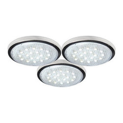 Bazz Lighting - Bazz Lighting LED103 Under Cabinet LED Series Three-Light Undercabinet Fixture, - Bazz LED103 Under Cabinet LED Series Three-Light Undercabinet Fixture, with Soft White LEDsBazz LED103 Features: