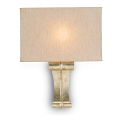 Currey and Company - Antechamber Wall Sconce - They say more isn't always better. When it comes to this wall sconce, they are exactly right. The clean lines of the shade and the understated charm of the base give your space a refined, elegant look.
