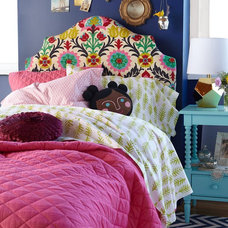 Eclectic Headboards Kids Headboards: Kids Arched Patterned Headboards in Beds