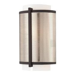 Kovacs - Kovacs P920-684 1 Light ADA Compliant Wall Sconce Mainly Mesh Collectio - Single Light ADA Compliant Wall Sconce from the Mainly Mesh CollectionFeatures:
